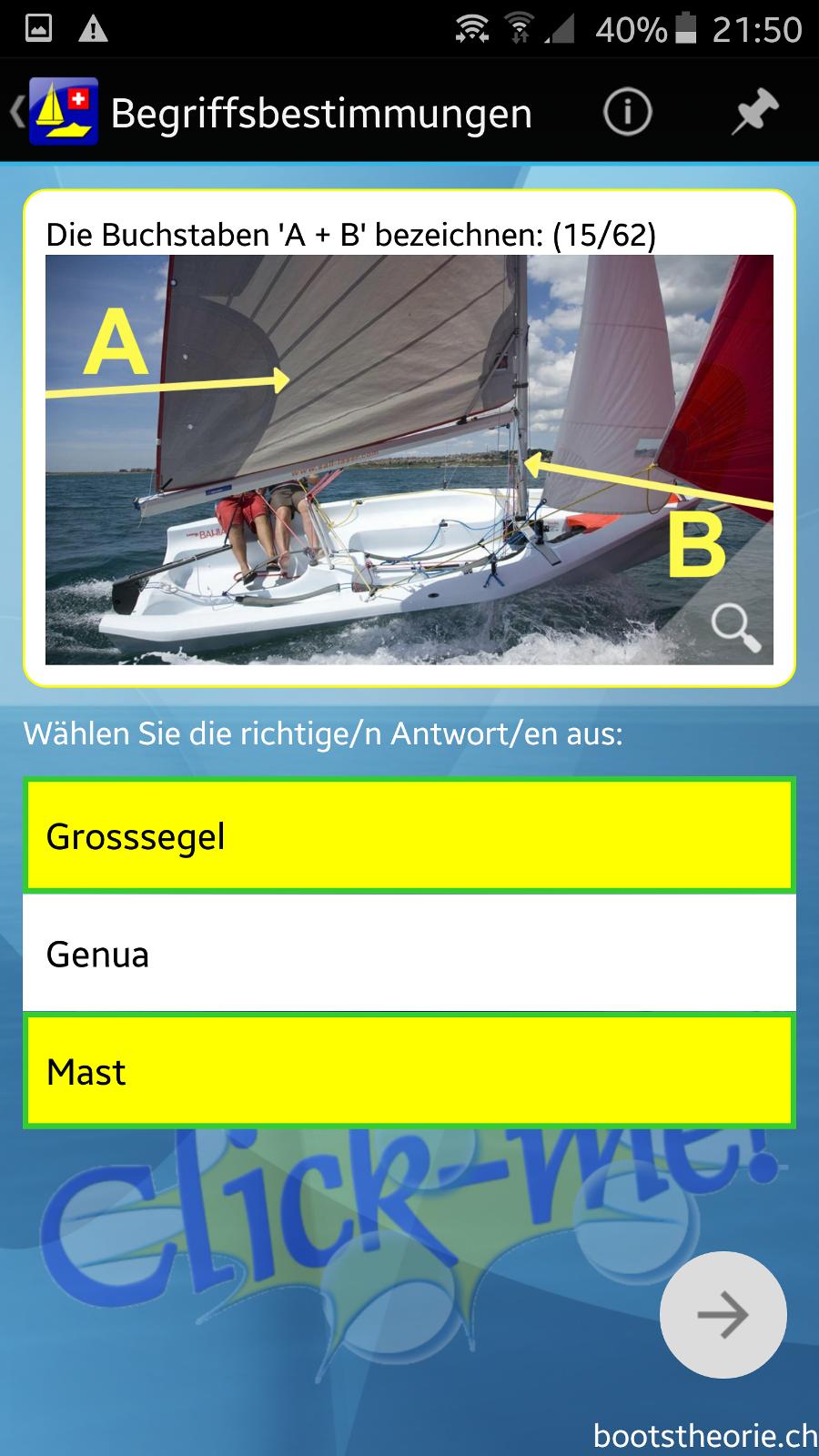 App Bootstheorie.ch