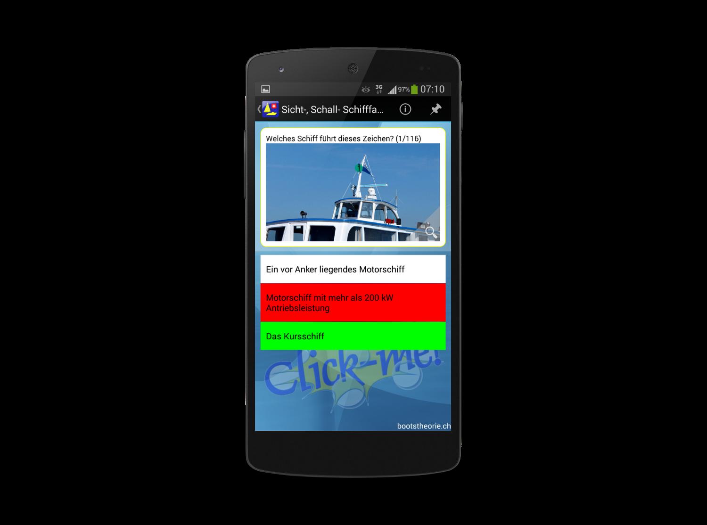 Alle Theoriefragen mit Erklärungen für den Motorbootschein und Segelschein finden Sie in der App Bootstheorie.ch. Gratis Testversion!