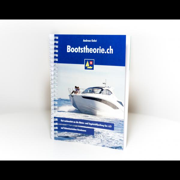 Lehrbuch für den Binnenschein Motorboot Kat. A und Segelschiff für angehende Schiffsführerinnen und Schiffsführer auf allen Schweizerischen Gwässern.
